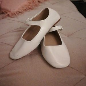 Urban outfitters white Mary Jane shoes